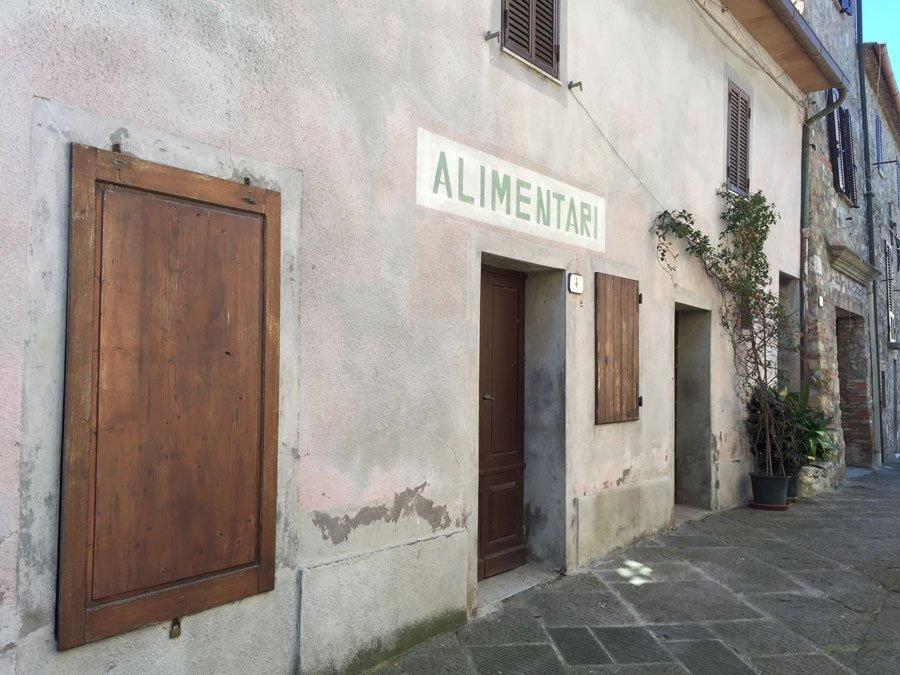 Tipico borgo toscano