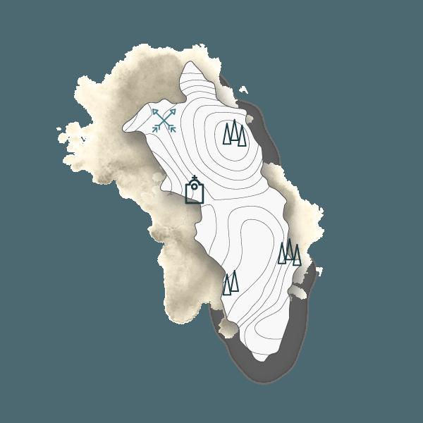 mappa pasquetta trekking