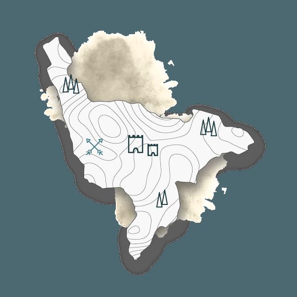 mappa biking monteriggioni