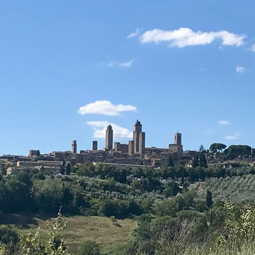Hiking San Gimignano