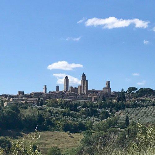 Hiking San Gimignano