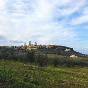 Rando à San Gimignano