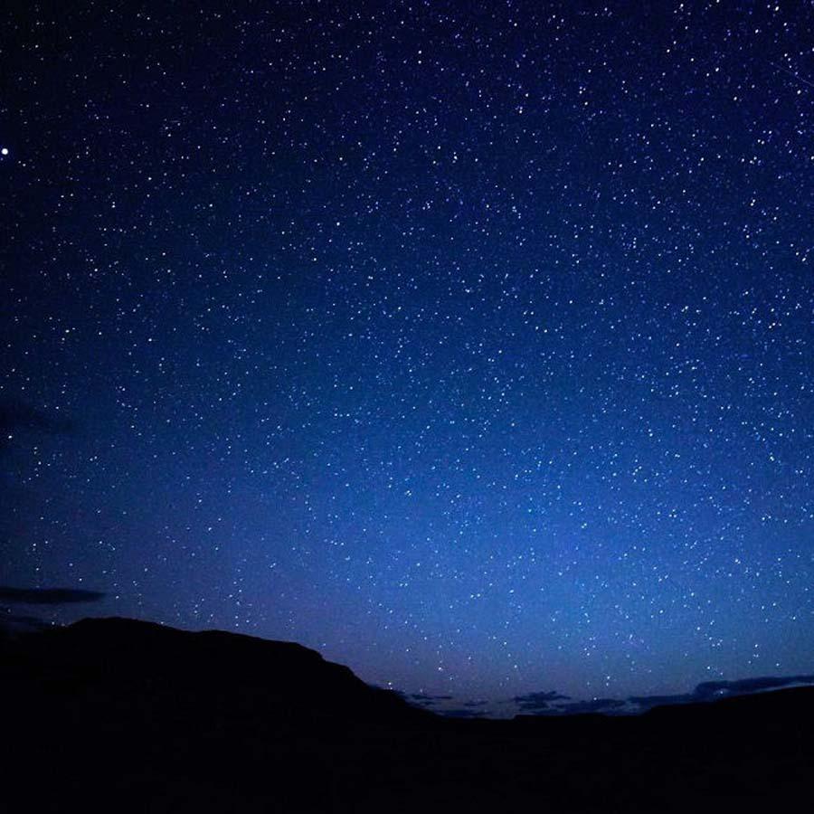 escursione sotto le stelle