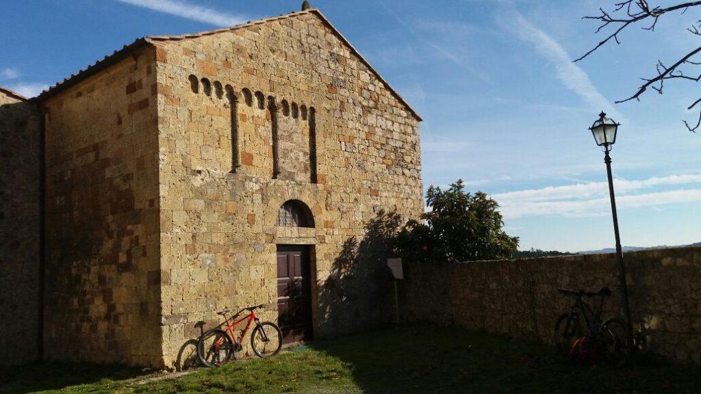 Siena in mountain bike