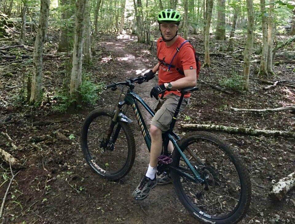Escursionismo in Mountain Bike