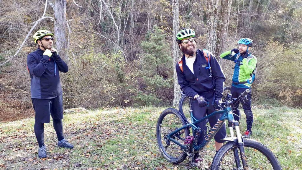 come vestirsi Mountain Bike Inverno