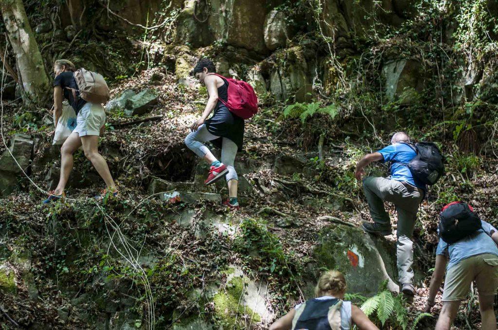 escursione e trekking