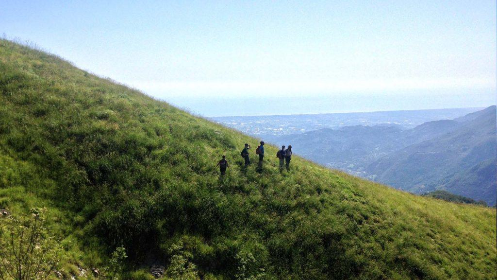Apuane trekking