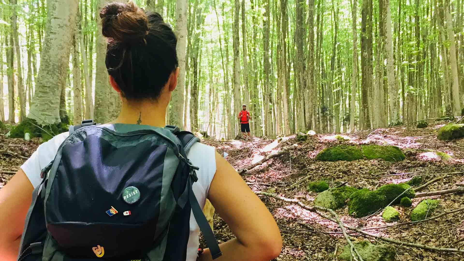 bagno foresta amiata trekking