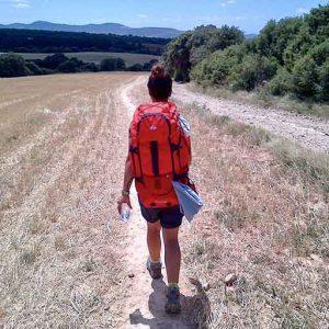 viaggio trekking a piedi