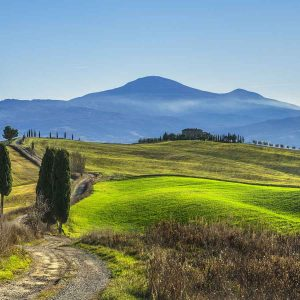 val d'orcia trekking