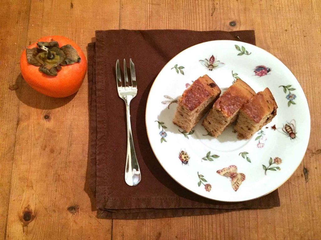 cachi ricetta autunno