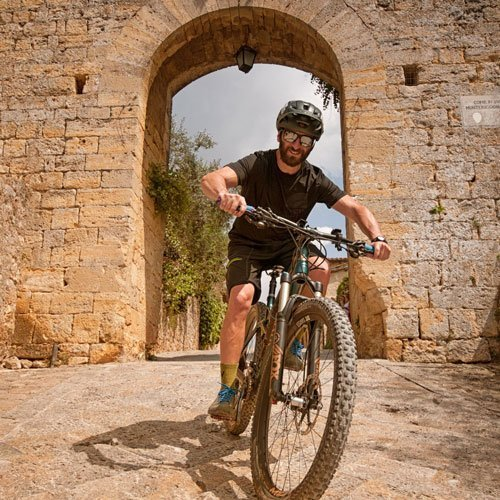 mtb tour via francigena