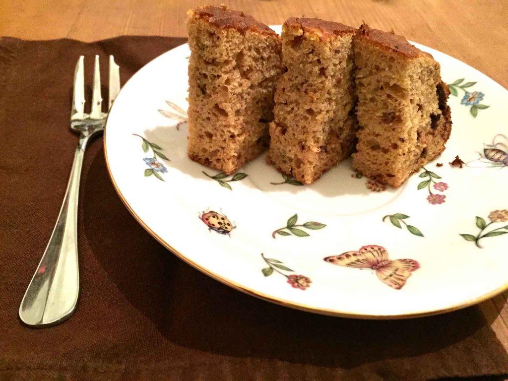 ricetta torta cachi