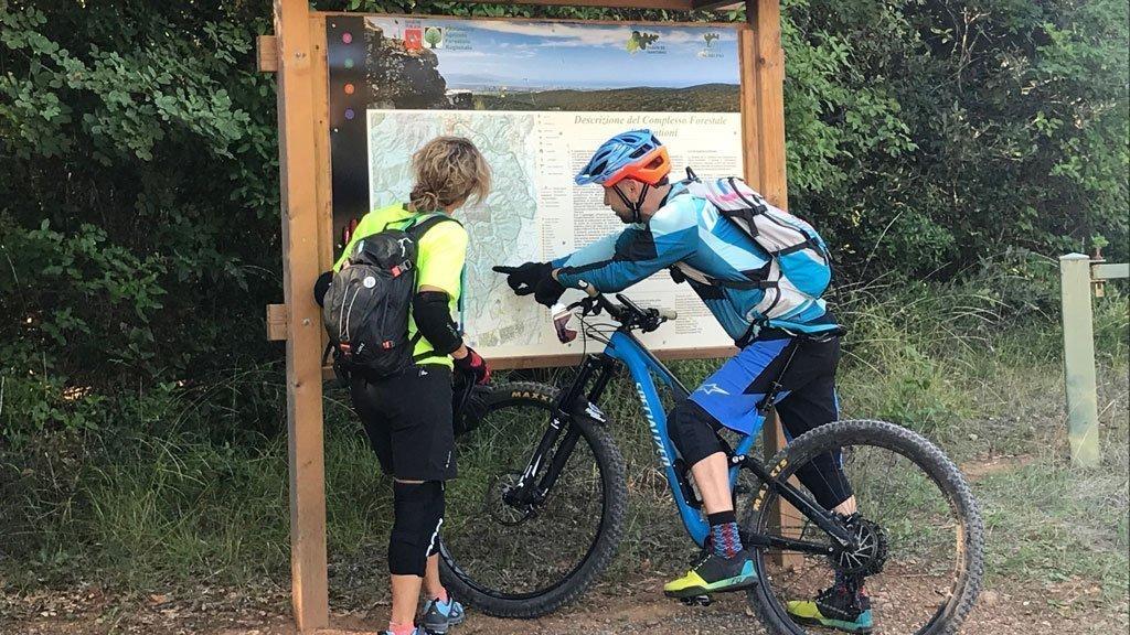 mountain bike mappa
