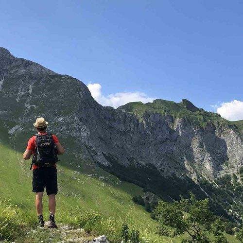 trekking apuan alps