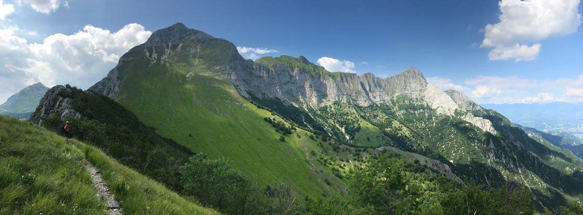 trekking dans alpes apuane