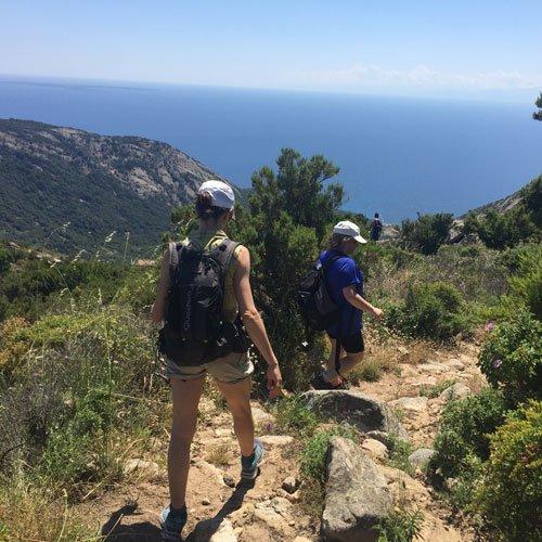 hiking Isola d'Elba