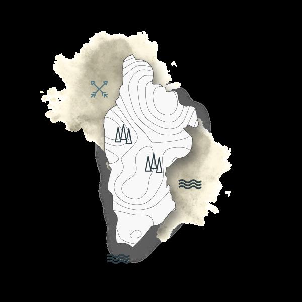 trekking sull'isola di gorgona