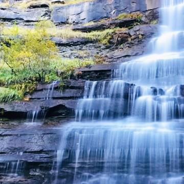 La cascata del Piscino